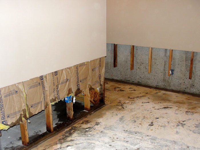 Drywall Flood Water Damage What To Do